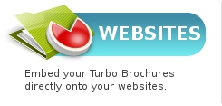 Websites - Embed your Turbo Brochures directly onto your websites